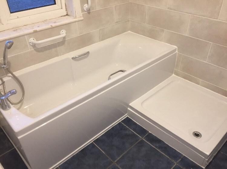 Recent bathroom & retile in Lowestoft