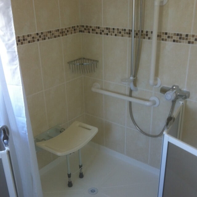 Resent wetroom completed in essex